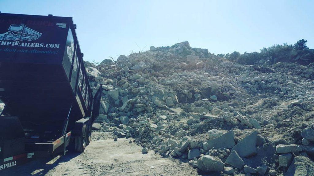 14 Foot Dump Trailer Services Charleston SC