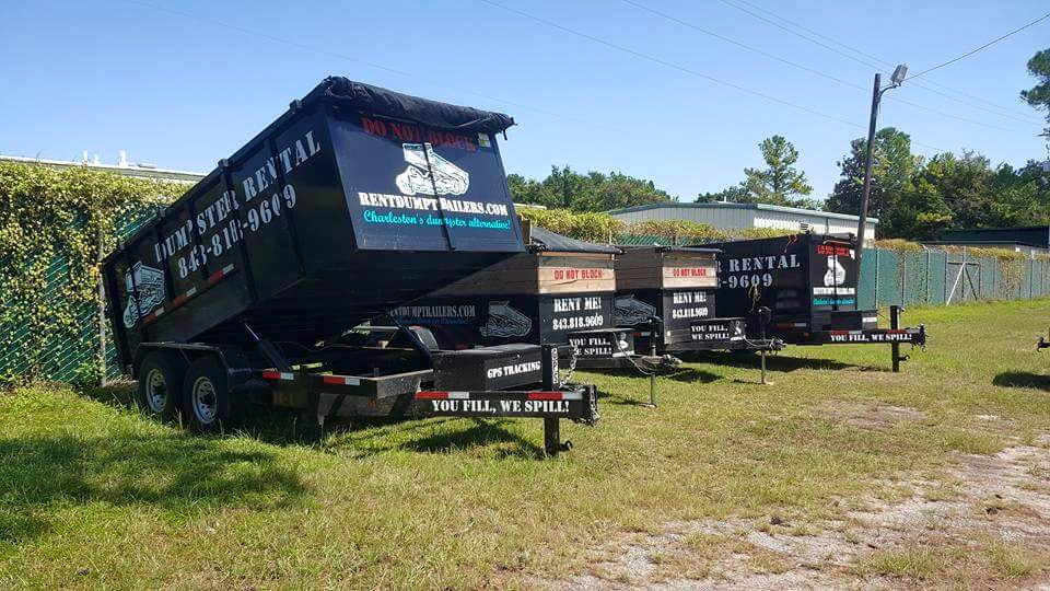 Charleston Dumspter Trailers