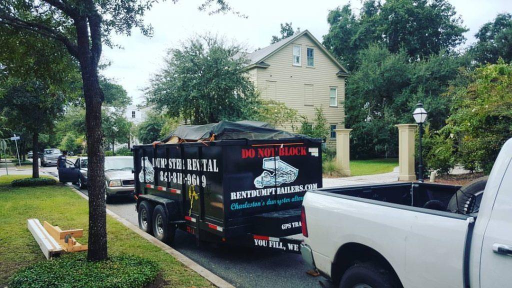 Loaded Trailer Charleston SC