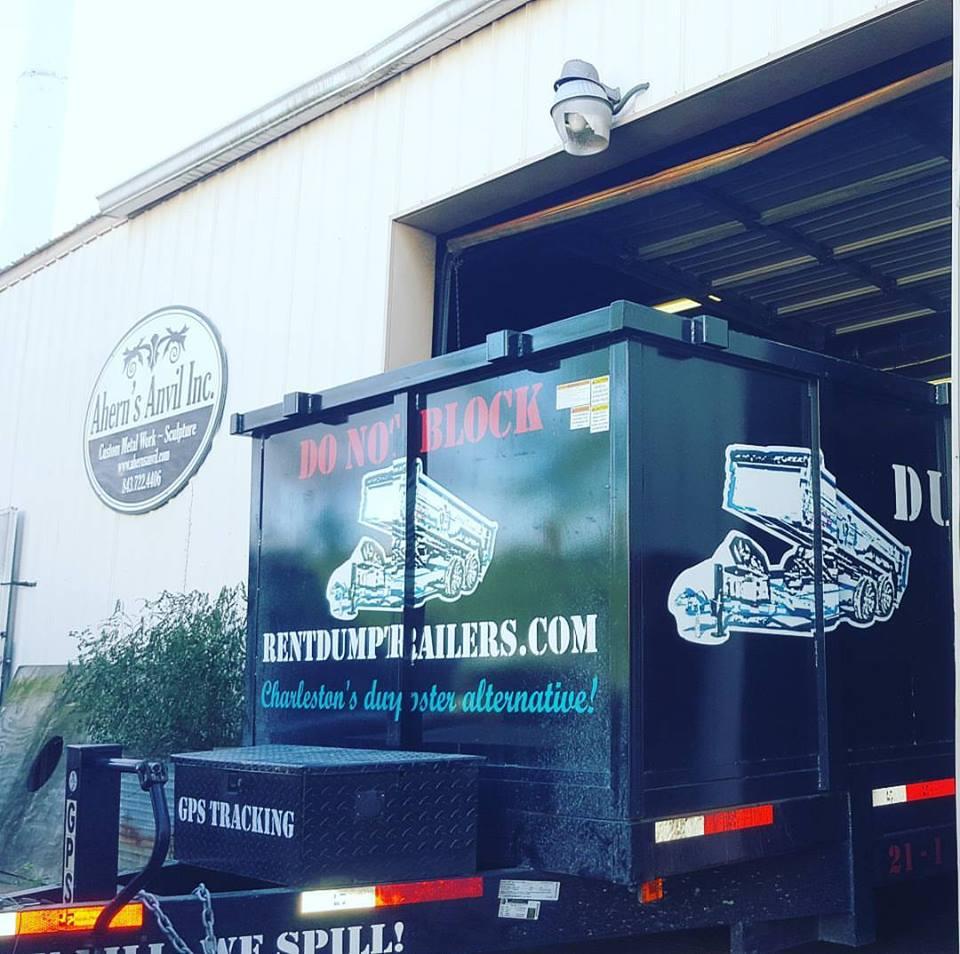 Trailer Parked in Garage Charleston SC