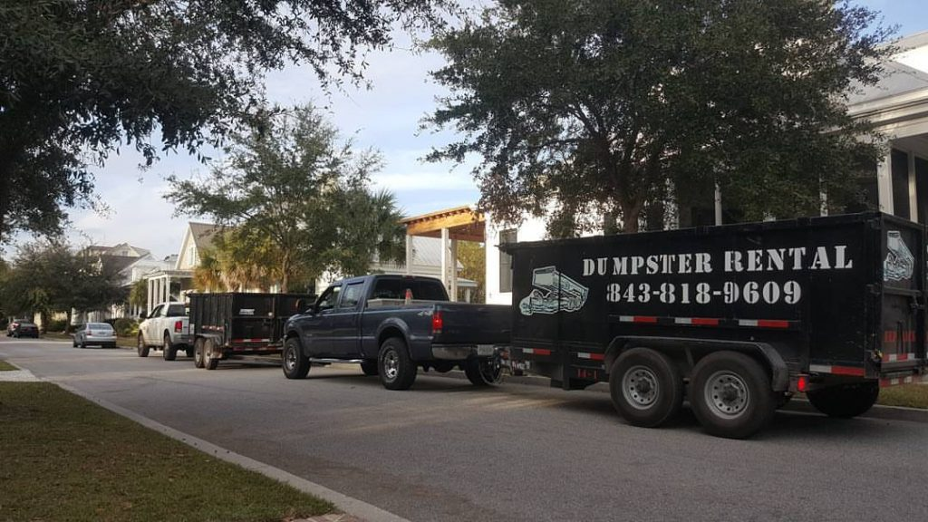 Truck Hauling Trailer Charleston SC